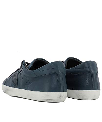 Philippe Cuir Baskets Bleu Clluww04 Homme Model 6xqra16Ow