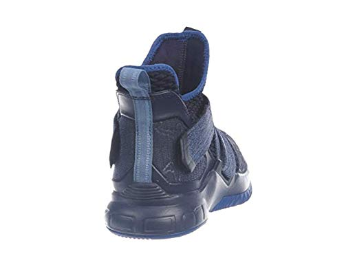 Nike Lebron Soldier XII Mens Fashion-Sneakers AO2609-401_8 - Blackened Blue/Work Blue-Gym Blue (School Grade Shoes Boys Lebron 12)