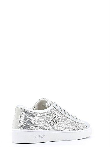 Guess FLGHE1-SAT12 Sneakers Mujer Silver