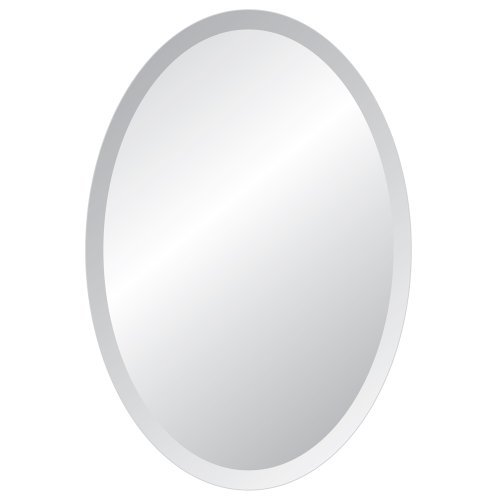 Spancraft Glass Oval Beveled Mirror, 24'' x 36'' by Spancraft Glass