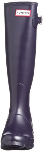 Hunter Original Tall Classic, Botas de Agua Para Mujer Morado (Aubergine)