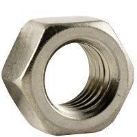 """QTY 50 7//16/""""-20 UNF Nylon Insert Lock Nut Zinc Grade A Hex Nuts"""