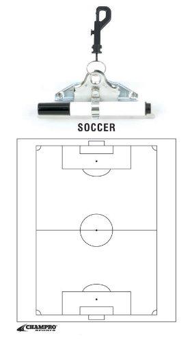 Champro Soccer Coach's Board (White, 12 x 9-Inch)