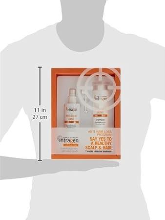 Revlon Intragen Anti-Hair Loss - Cuidado capilar, 2 piezas, 200 gr