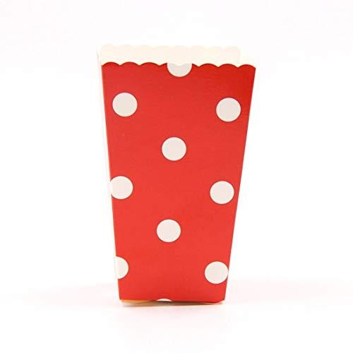 Flamingo Bonut Popcorn Cups 12PCS/Lot Popcorn Box Mutil