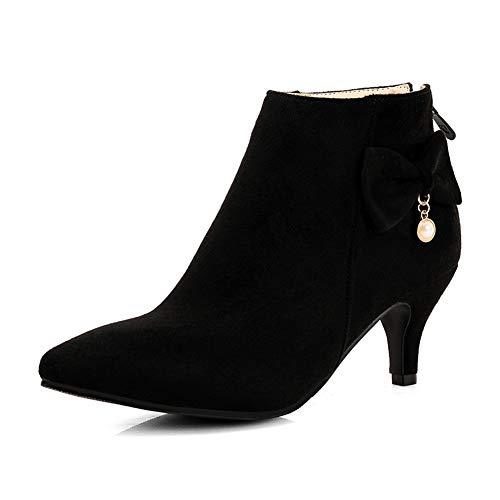 nbsp;ajouter Taille Boots De Femme Warm Up Plus nbsp; Winter Black Fourrure 33 48 2018 Hauts La Cheville Hoesczs Zip À Talons Chaussures nbsp; Bottes C1qwPUtnx