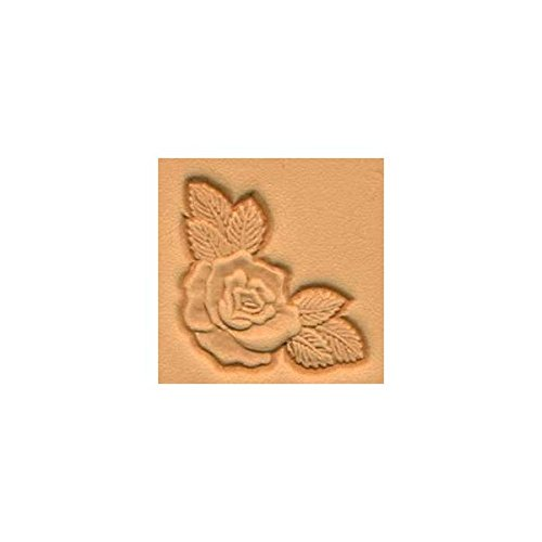 Tandy Leather 3D Rose Corner Stamp 8534-00 by Tandy Leather B00420YQCW