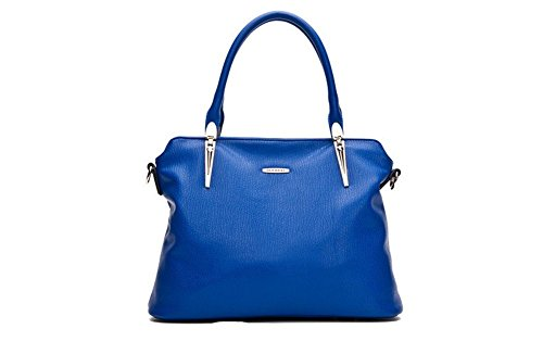 Massello Donna Da Tracolla Winter borsa qckj Lorenz A Colore Blu In 7wSR8Tq
