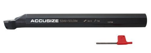 1//2/'/' x 7/'/' RH SCLCR Indexable Boring Bar with CCMT Insert AccusizeTools P252