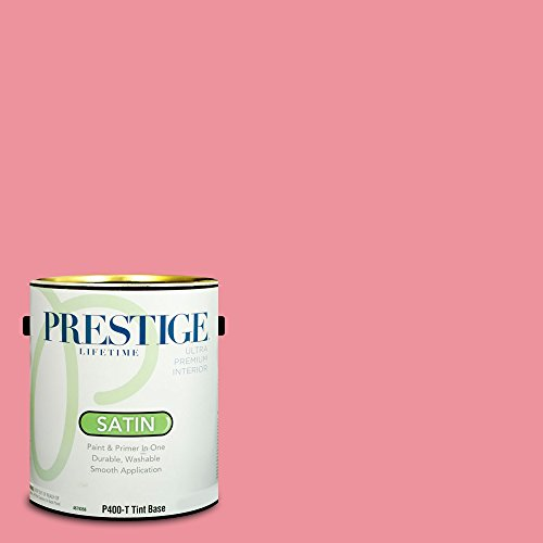 Amaryllis Water (Prestige Paints Interior Paint and Primer In One, 1-Gallon, Satin,  Comparable Match of Sherwin Williams)