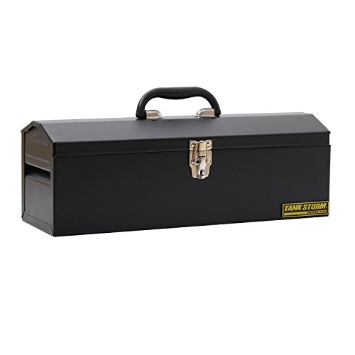 TANKSTORM Portable Steel Tool Box,black (x11) by TANKSTORM