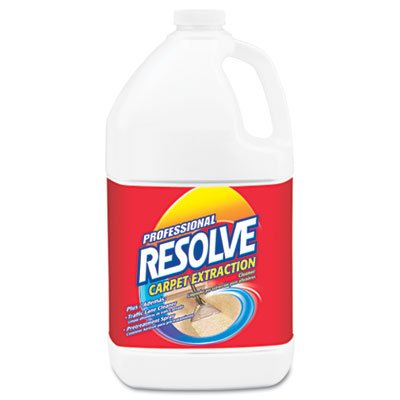 (Professional RESOLVE 97161 Carpet Extraction Cleaner Concentrate, 1 gal Bottle)
