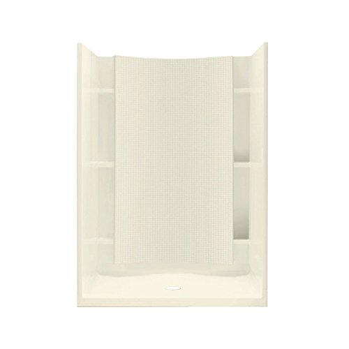 Biscuit Accord - STERLING 72250100-96 Accord Shower Kit, 42-Inch x 36-Inch x 77-Inch, Biscuit