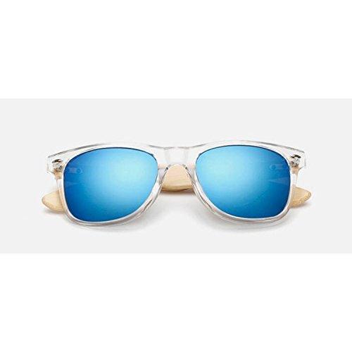 JapanX Bamboo Sunglasses & Wood Wooden Sunglasses for Men Women, Polarized Lenses Gift Box – Wooden Vintage Wayfarer Sunglasses - Bamboo Wood Wooden Frame – New Style Sunglasses - Glasses Japanese Frames Wooden