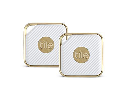Tile EC-11002  - Key Finder. Phone Finder. Anything Finder - 2-pack, Style (Gold)