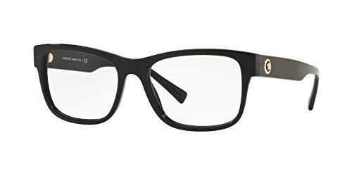 Versace VE3266 Eyeglass Frames GB1-55 - Black ()