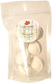 Lavender Bath Bomb Set, 7 minis, Made in Canada