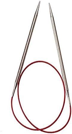 ChiaoGoo Knit Red Edelstahl Stricknadel Rundstricknadel 100cm