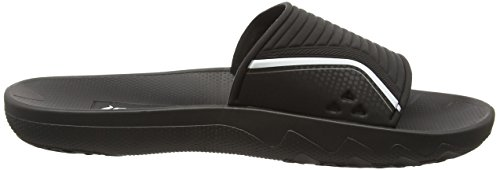 Lunar Men's One Slide Beach and Pool Shoes Black (Black 20766) txZDAw