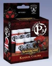 Privateer Press Formula P3 Paint - Khador Colors 1