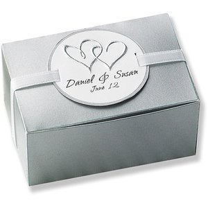 50 Count Platinum Favor Boxes