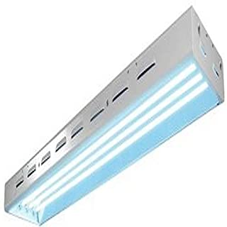 Sun Blaze T5 Fluorescent - 4 ft. Fixture | 4 Lamp | 240V - Indoor Grow Light Fixture for Hydroponic and Greenhouse Use