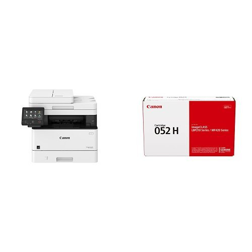 Canon Lasers MF426dw Monochrome Printer with Scanner Copier & Fax with Canon Original 052 High Capacity Toner Cartridge - Black
