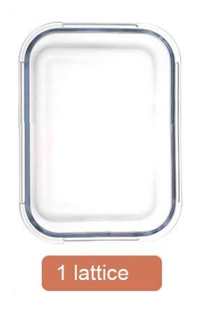 Korean style Lunch Box Glass Microwave Bento Box Food Storag