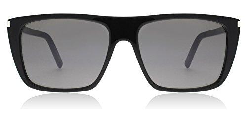 Saint Laurent SL156 001 Black SL156 Square Sunglasses Lens Category 3 Size - Sunglasses Womens Laurent Saint
