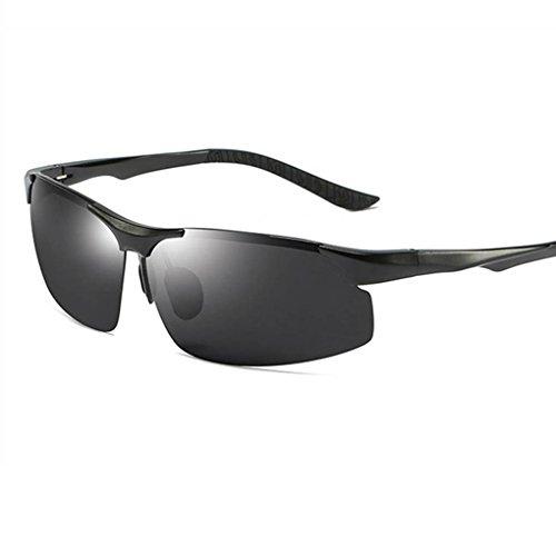 sol polarizadas gafas Marco Coolsir 1 UV400 de Mujeres Al aire protección Unisex de montar Mg Hombres Gafas al vidrios los libre rv8RnrP