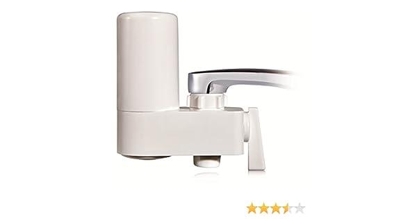 Filtro purificador de agua para grifo. Filtro cerámico - filtrado de 3 fases Delite Mod.DE-OT4: Amazon.es: Hogar