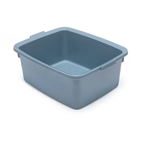 Addis 518034 - Cuenco para Lavar (plástico, 33 x 42 x 17 cm), Color Azul