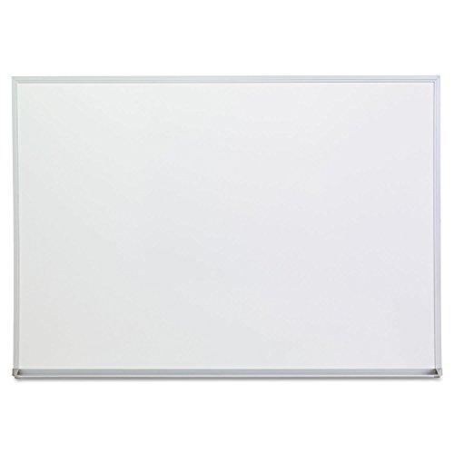 Universal 43624 Dry Erase Board, Melamine, 48 x 36, Satin-Finished Aluminum Frame by instrainclug