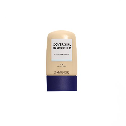 COVERGIRL Smoothers Hydrating Makeup Classic Ivory, 1 oz (packaging may vary)