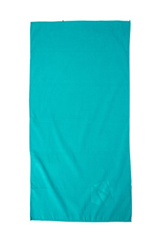 Mountain Warehouse Gym Towel Iris Azul Marino Talla única Verde agua
