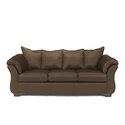 Superieur Ashley Furniture Signature Design   Darcy Contemporary Microfiber Sofa    Café