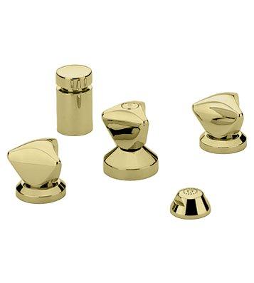Grohe 24663R Wideset Bidet TDL brass handles Vertical spray
