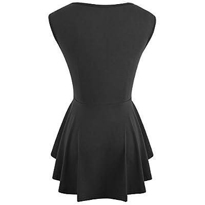 VELJIE Women Casual Blouse Tunic Peplum Shirt Tops at  Women's Clothing store
