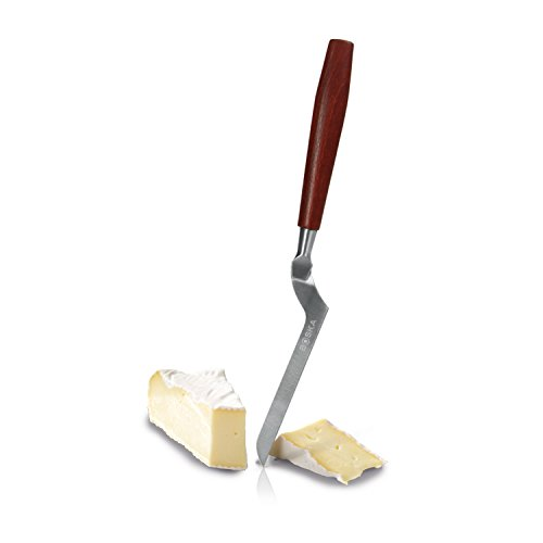 Boska Holland Soft Cheese Knife with Rose Wood Handle, Slim Blade for Brie, 10 Year Guarantee, Taste Collection