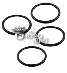 Penguin Part - 4 Pack 2045 Marineland (Aquaria) Bio Wheel - O Rings Pros/Emperor 400