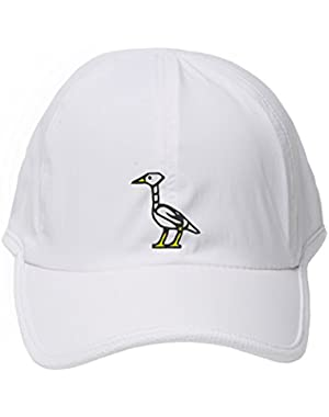 Hip Hop Cap Youth Plain Caps Unisex Cartoon Crane Bird Designed Hat
