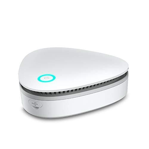 🥇 KKmoon Generador de ozono Portátil Purificador de aire para hogar Esterilizador de ozono Refrigerador doméstico Esterilizador Ambientador de alimentos Armario Gabinete de zapatos Esterilizadores