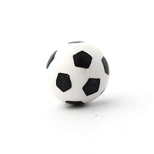 Melody Jane Dolls House Soccer Football Miniature Toy Shop Garden Game Black& White Ball