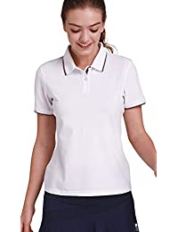 Womens Cotton Golf Polo Shirts Short Sleeve Plain t Shirts Sport Apparel