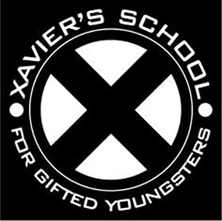 product image for Keen Xavier's School for Gifted Youngsters Vinyl Decal Sticker|Cars Trucks Vans Walls Laptops|White|5 in|KCD760