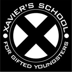 Xavier's School For Gifted Youngsters Vinyl Decal Sticker|Cars Trucks Vans Walls Laptops|WHITE|5 In|KCD760
