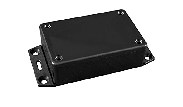 Boxes 1 piece /& Cases 4.7 X 4.7 X 2.2 Gray Enclosures