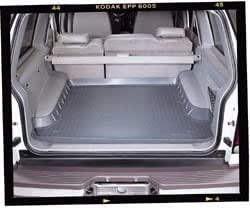 Amazon Com Husky Liners Custom Fit Molded Rear Cargo
