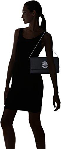 Calvin Silver Flap Black Clutch Reese Klein Mercury Structured 0rqf06w