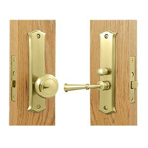 Deltana SDL688U3 Amsterdam Screen Door Mortise Lock Set with 1 1/2